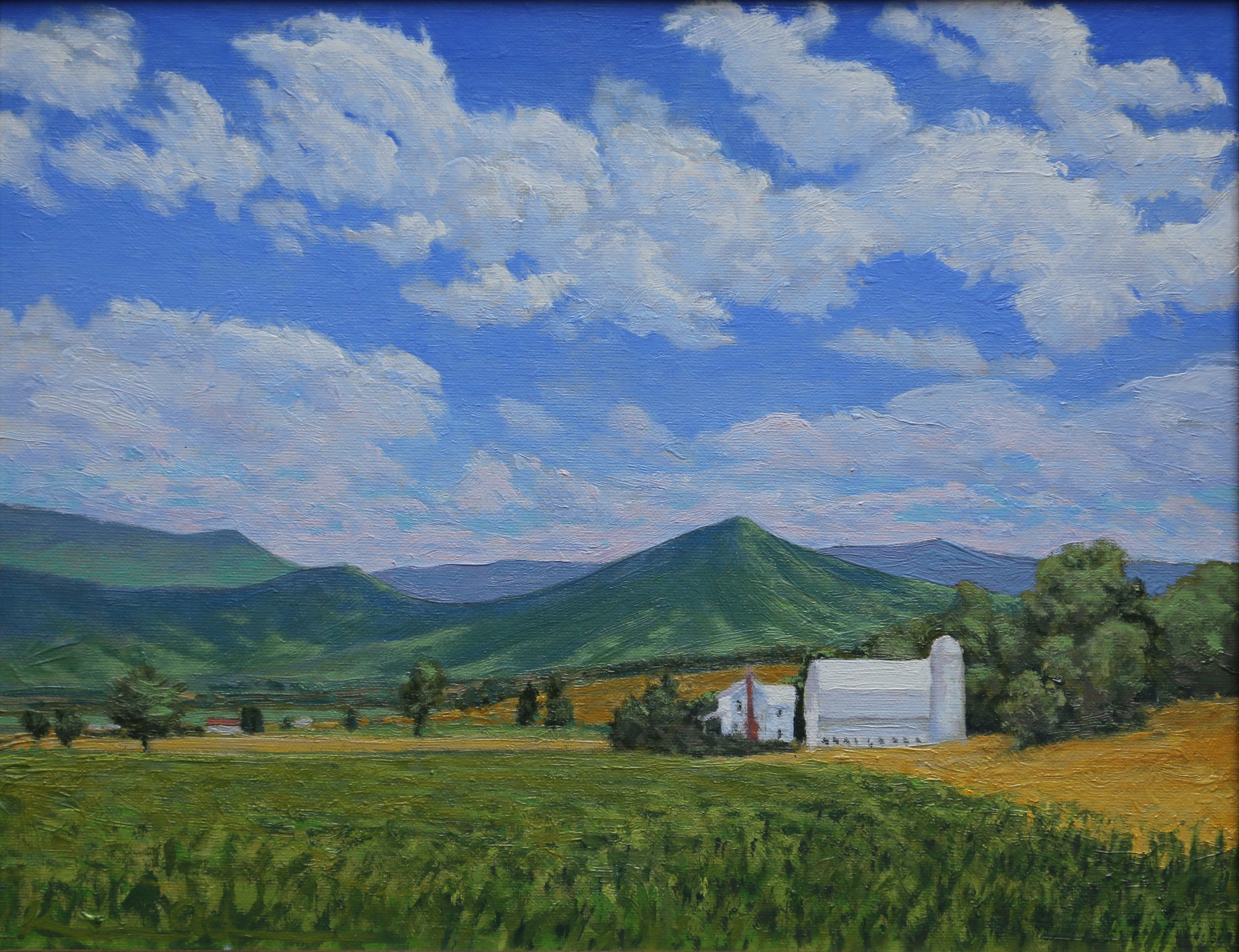 Outside of Luray 11 X 14 oil on panel