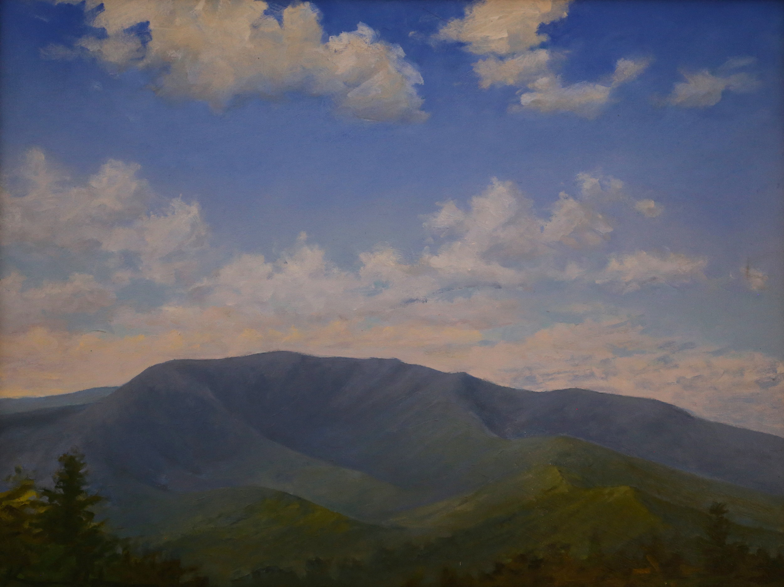 View from Dickey Ridge  18 X 24 oil on canvas