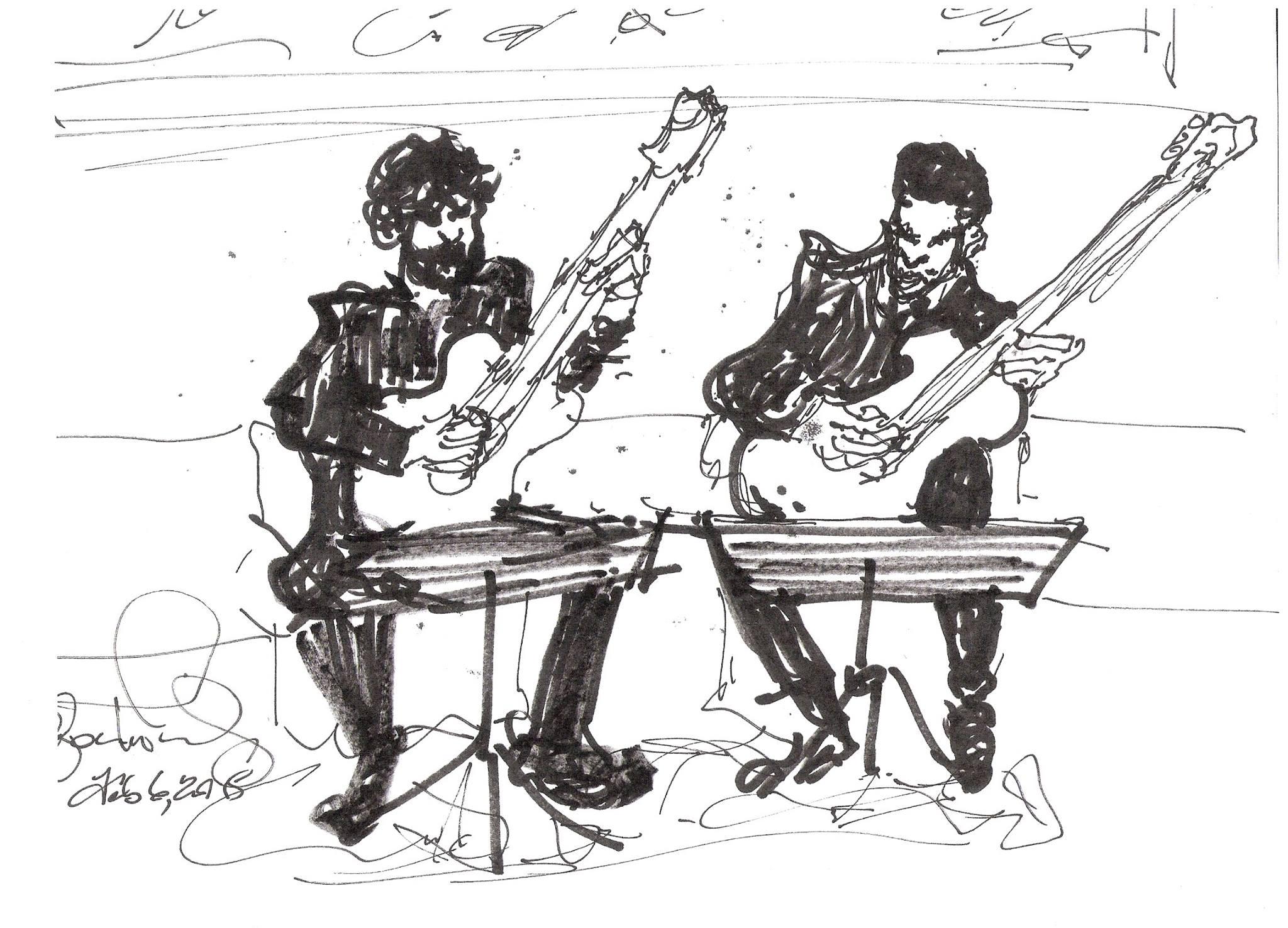 Solomon Thurman Artist Sketch