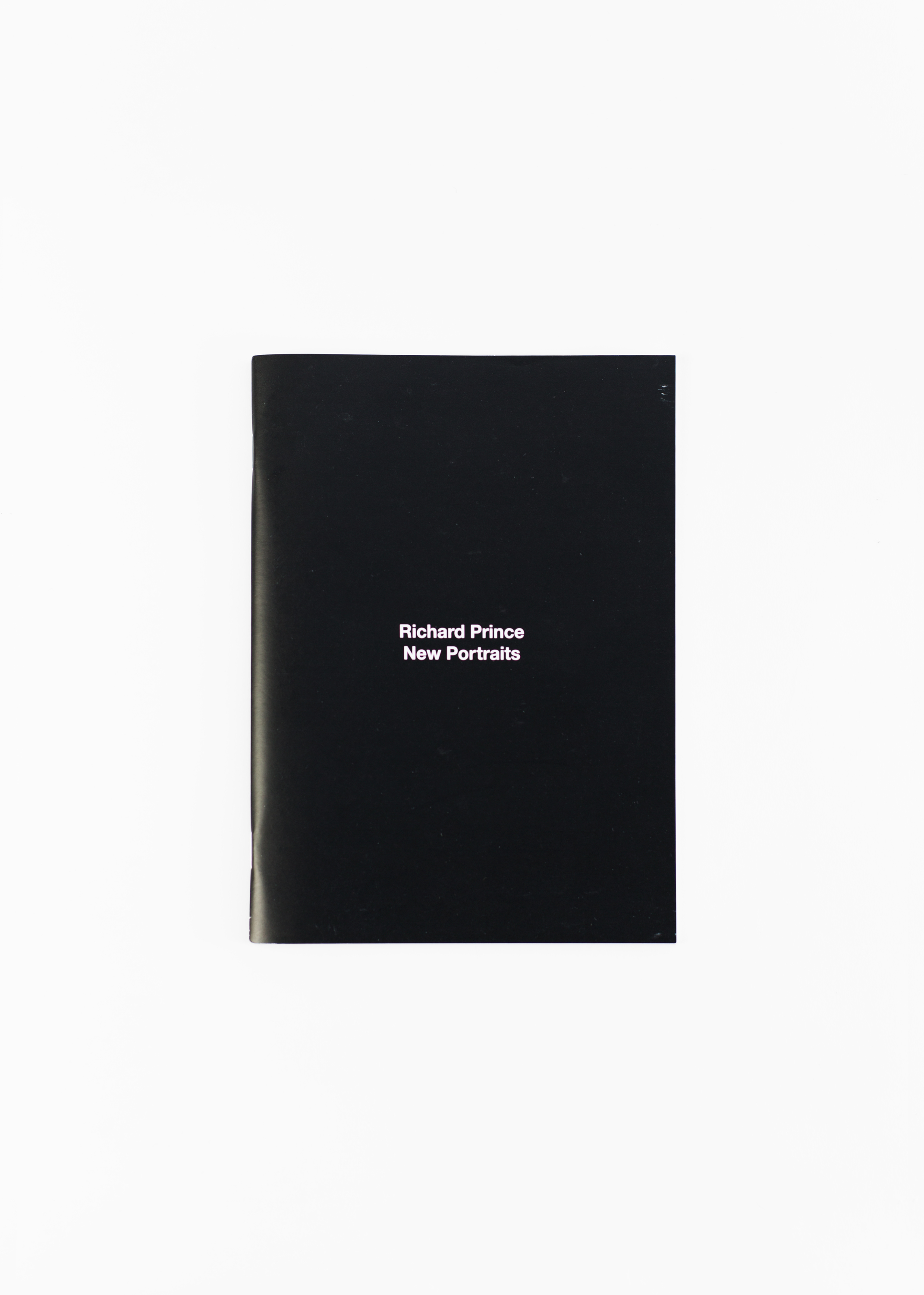 Richard Prince - New Portraits</br>76 pages, 15.5 x 20.5 cm</br>Gagosian 2014</br>Sold out