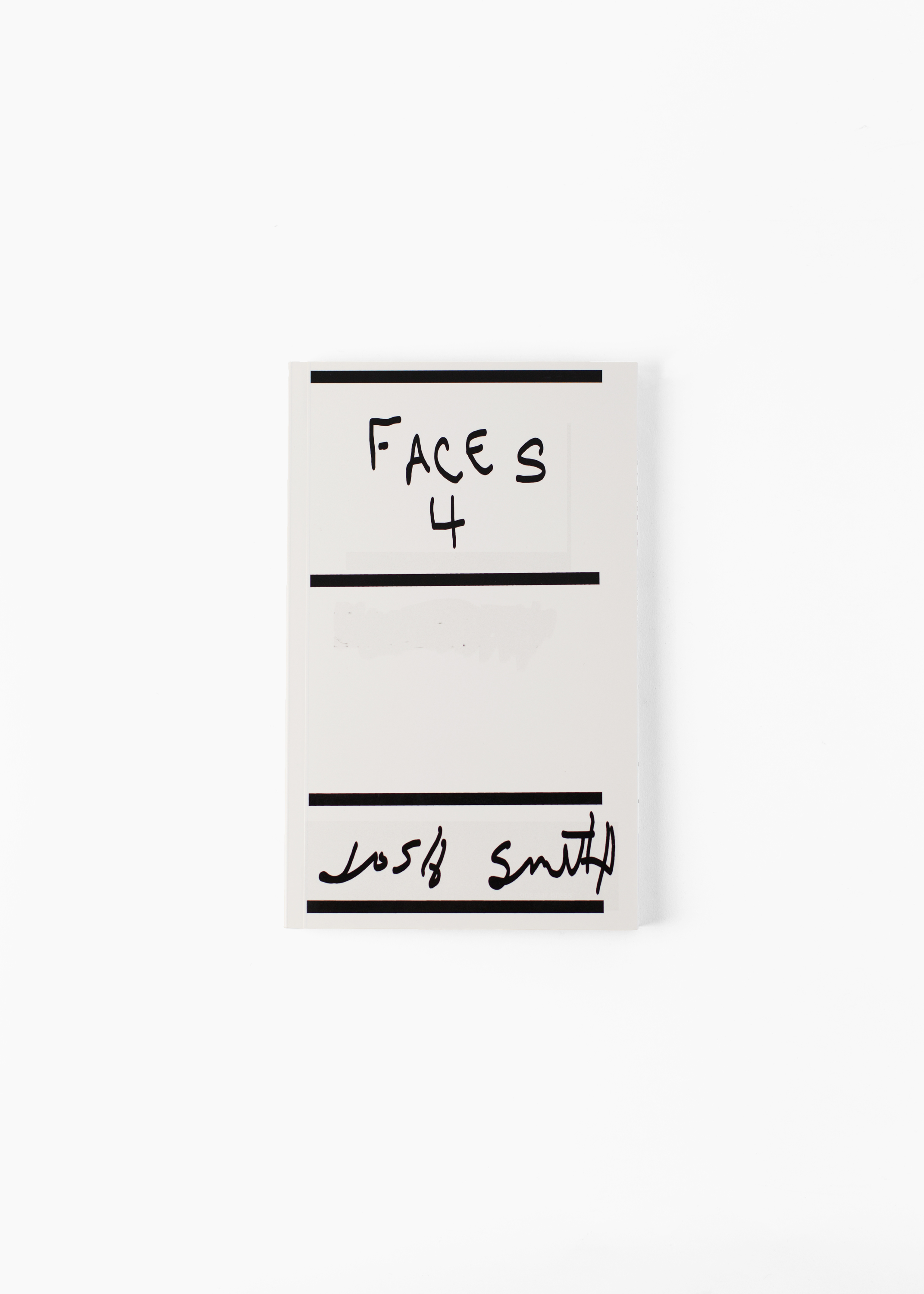 Josh Smith - Faces 4</br>150 pages 14 x 22.5 cm</br>Onestar Press 2006</br>Sold out