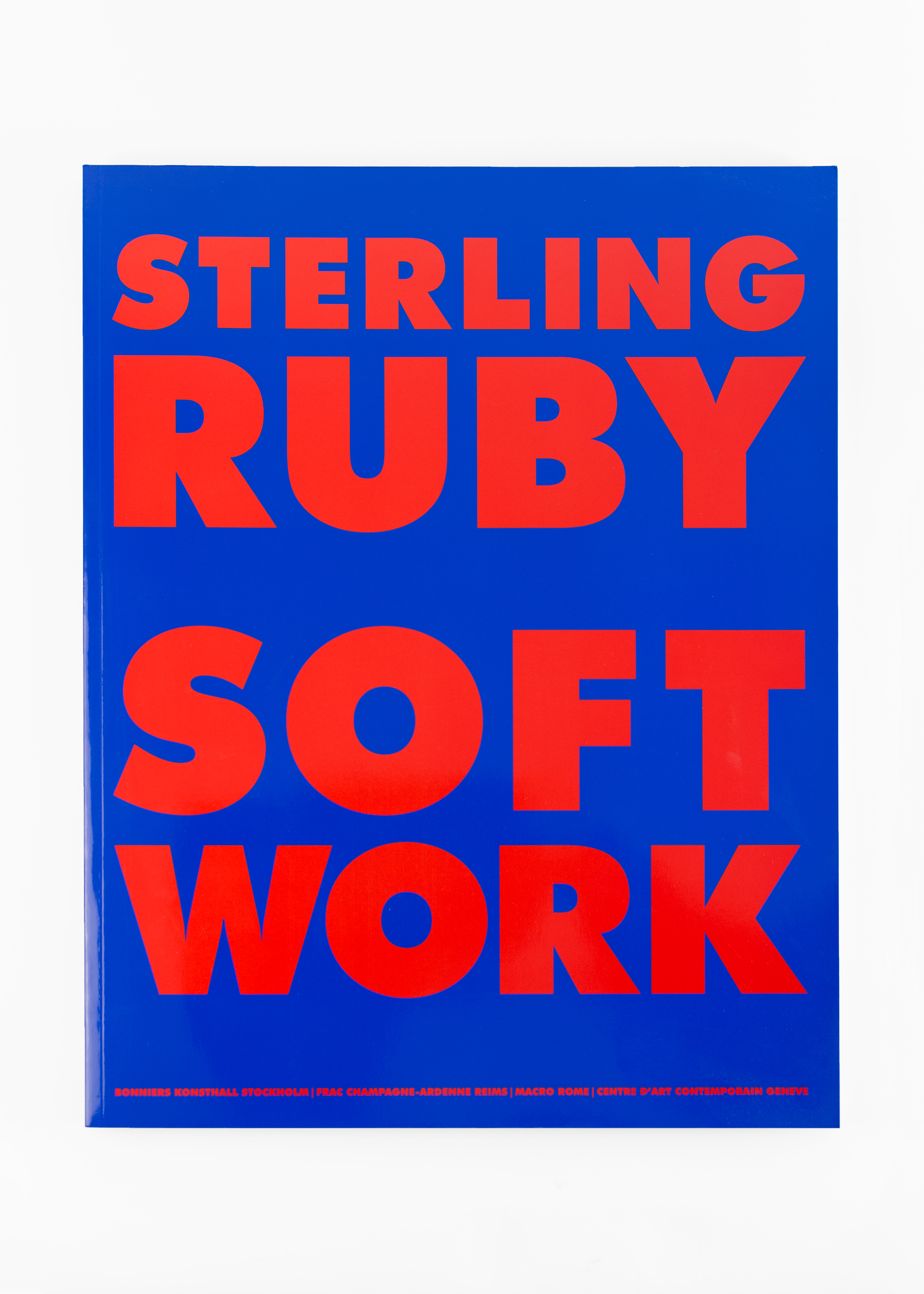 "Sterling Ruby - Softwork</br>150 pages 28 x 38 cm</br>Walther König 2014</br>€50 <a href=""https://www.paypal.com/cgi-bin/webscr?cmd=_s-xclick&amp;hosted_button_id=ZKBGAAETSQJUL"">Add to Cart</a>"