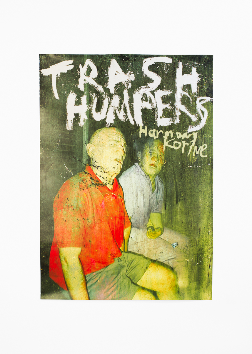 "Harmony Korine - Trash Humpers</br>Film Poster 42 x 59 cm</br>Warp Films 2009</br>€15 <a href=""https://www.paypal.com/cgi-bin/webscr?cmd=_s-xclick&amp;hosted_button_id=6B4U8PA8P85Z8"">Add to Cart</a>"