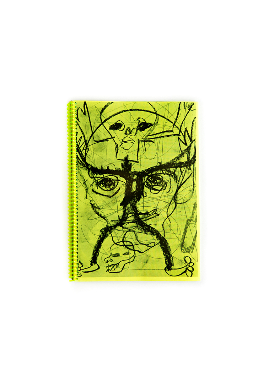 BILL SAYLOR - GOLDEN FANG  100 PAGES 21 X 29.7 CM  EDITION OF 100  OMMU 2016  €15  ADD TO CART