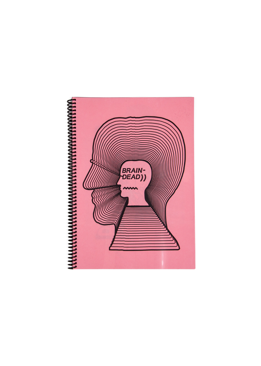 BRAIN DEAD - THE FIRST 2 YEARS  98 PAGES 21 X 29.7 CM  EDITION OF 100  OMMU 2016  SOLD OUT