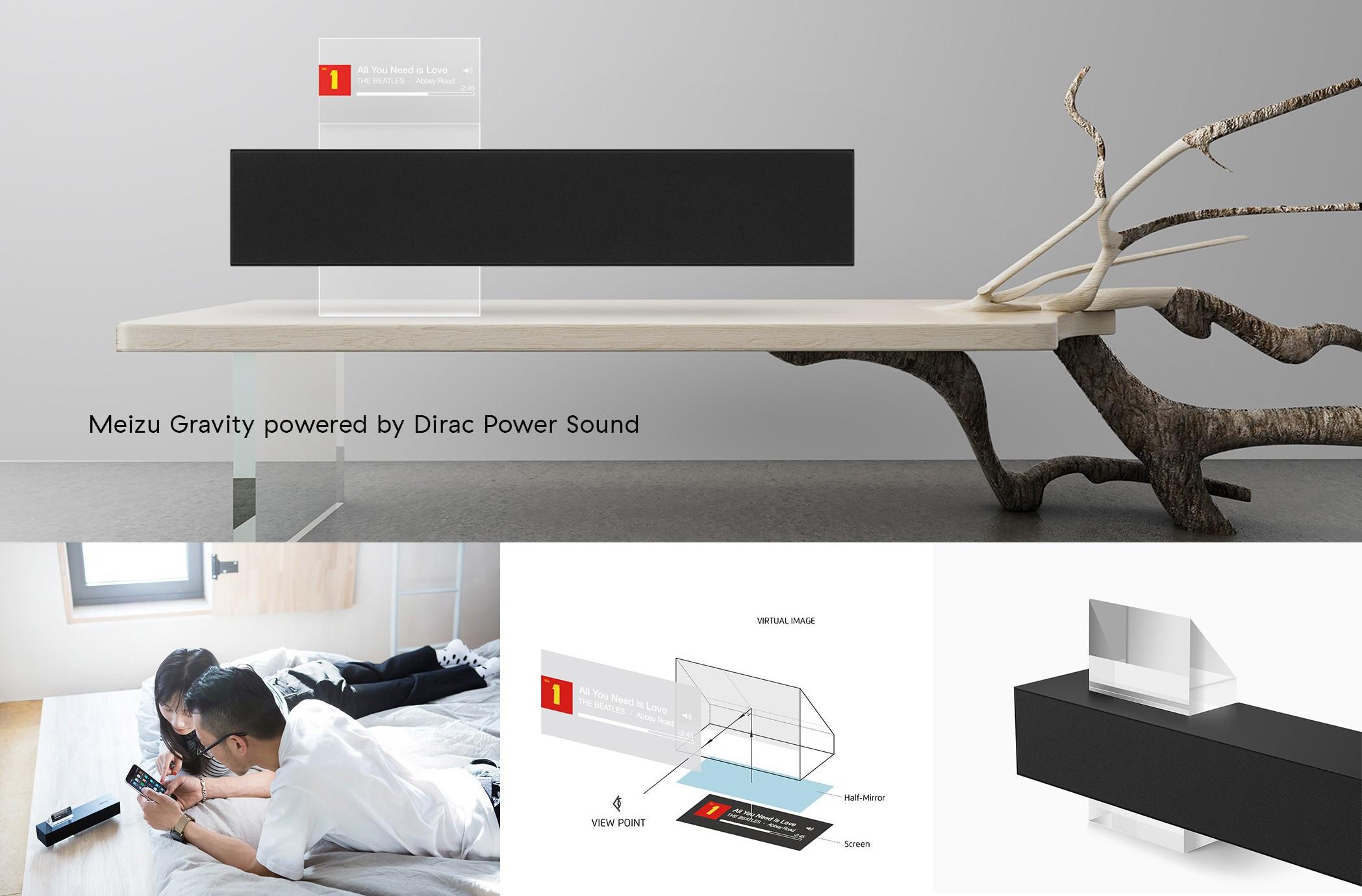 Meizu Gravity Speaker Optimized by Dirac Power Sound