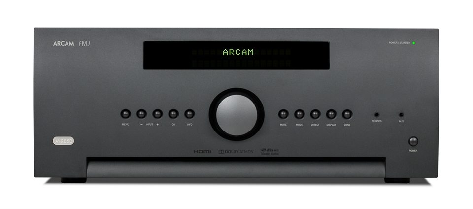 Arcam AVR featuring Dirac Live room calibration software