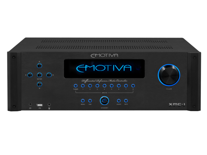 Emotiva XMC-1 featuring Dirac Live digital room correction software