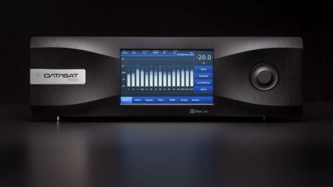 Datasat RS20i featuring Dirac Live digital room correction
