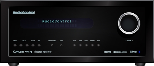 AudioControl Concert AVR-7 with Dirac Live digital room correction for home theater