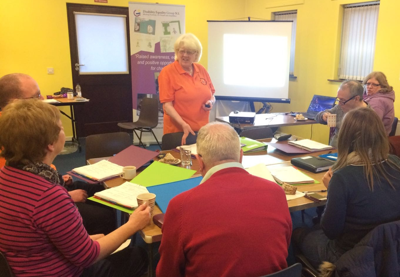 Disability awareness course run by DEGNI