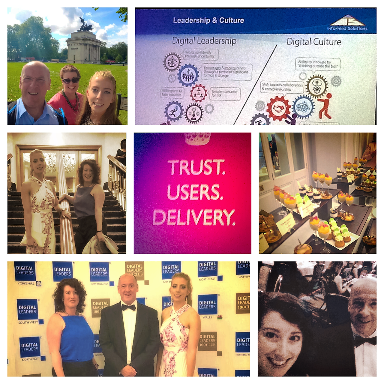 Colm, Stef, and Healy made the Trip to London to REPRESENT Supporting Communities at the Digital Leaders Awards.