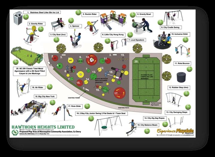 Proposed Park Equipment