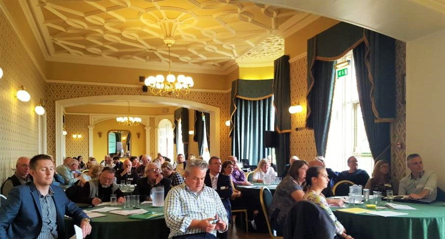 A full house for the event at Belfast Castle