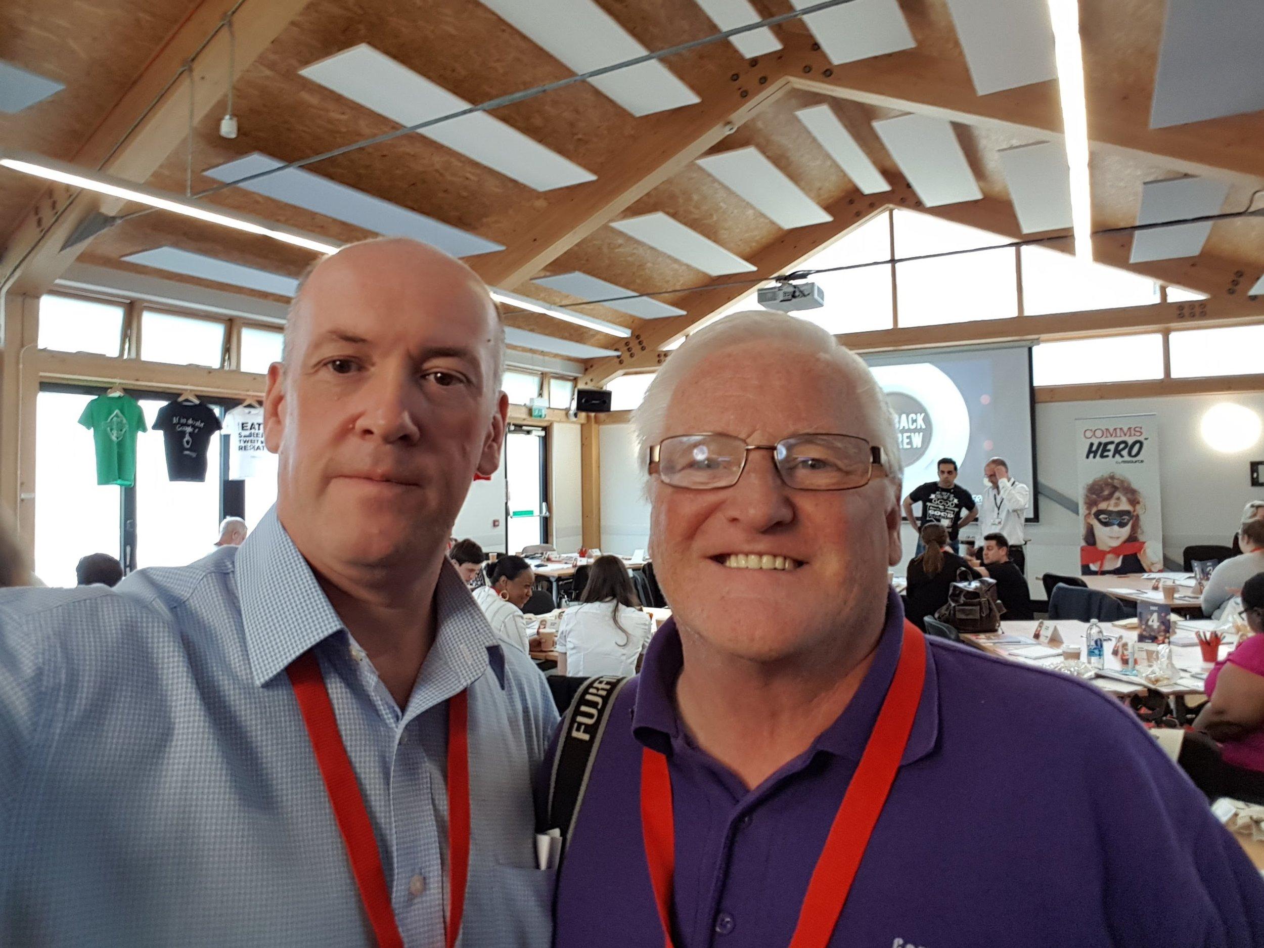 Colm McDaid and David Yates