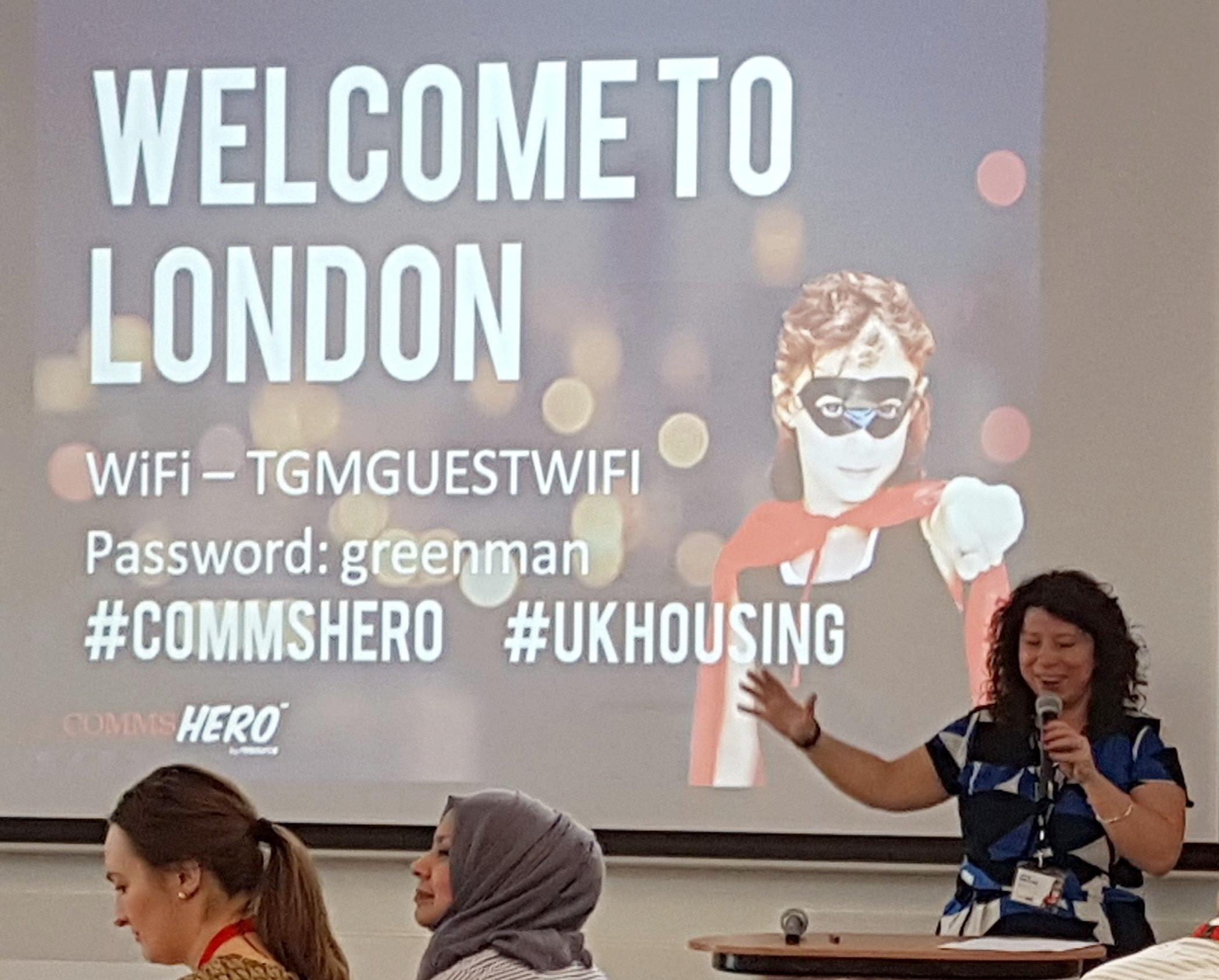 Jenny Osbourne opens the Conference