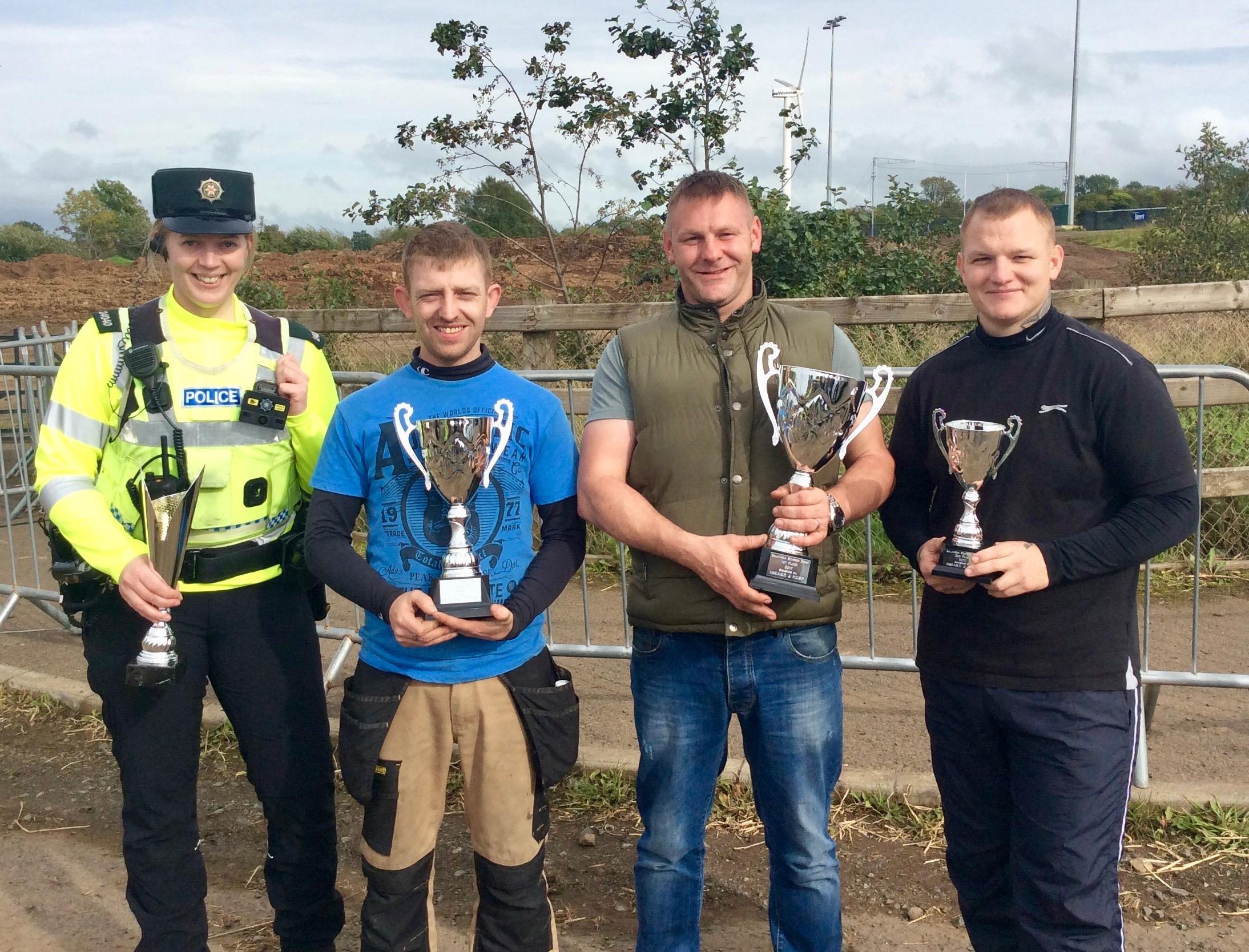The proud winners!