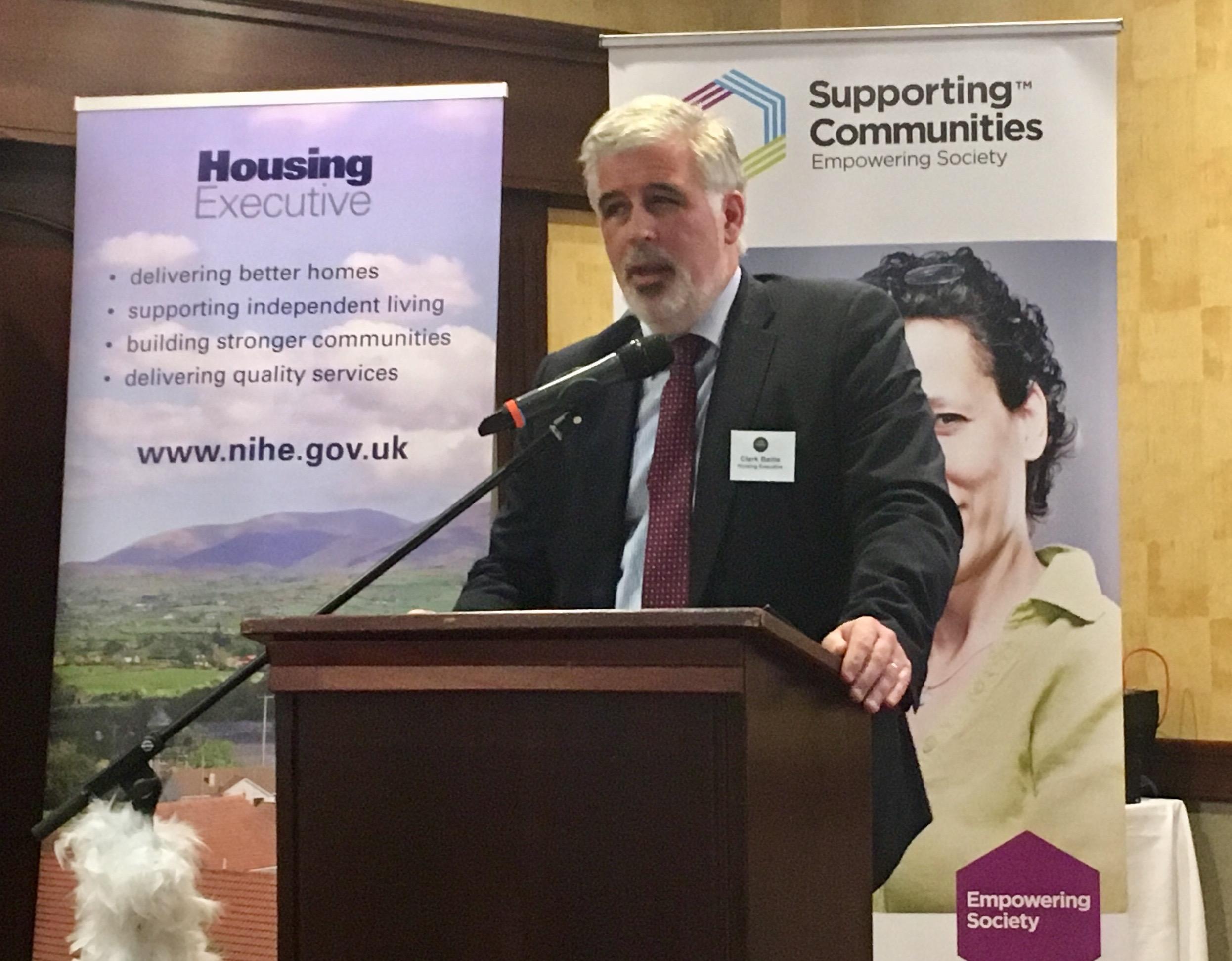 Clark Bailie, Housing Executive