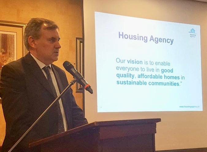 David Silke, Housing Agency