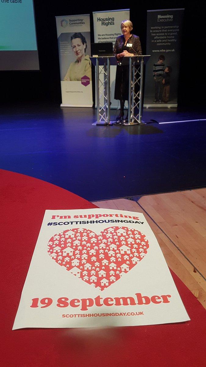 Leslie Baird, TPAS Scotland, was here to speak on Scottish Housing Day.