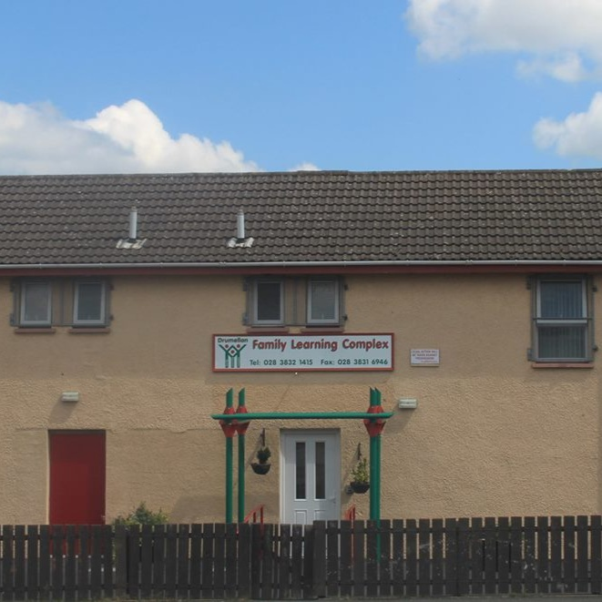 Drumellan's Family Learning Complex and a regional base for Supporting Communities.