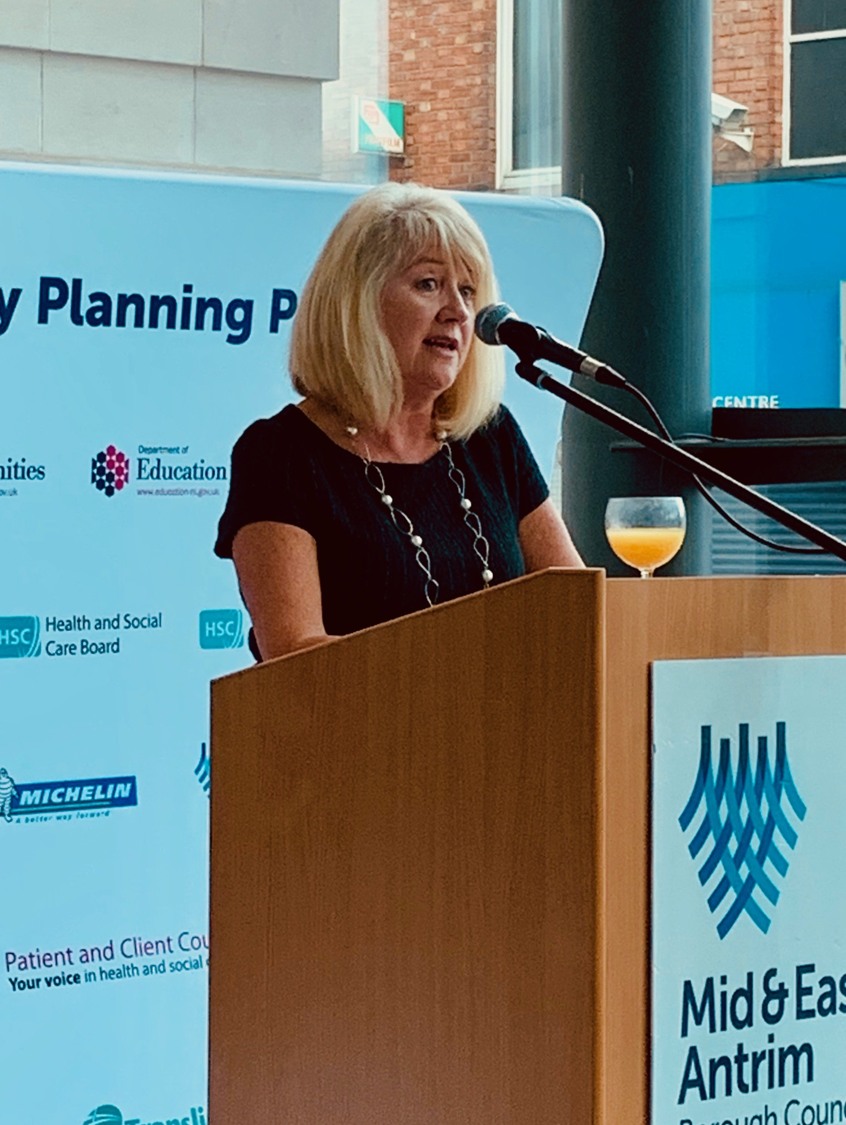 Lorraine Campbell, Chair of Supporting Communities