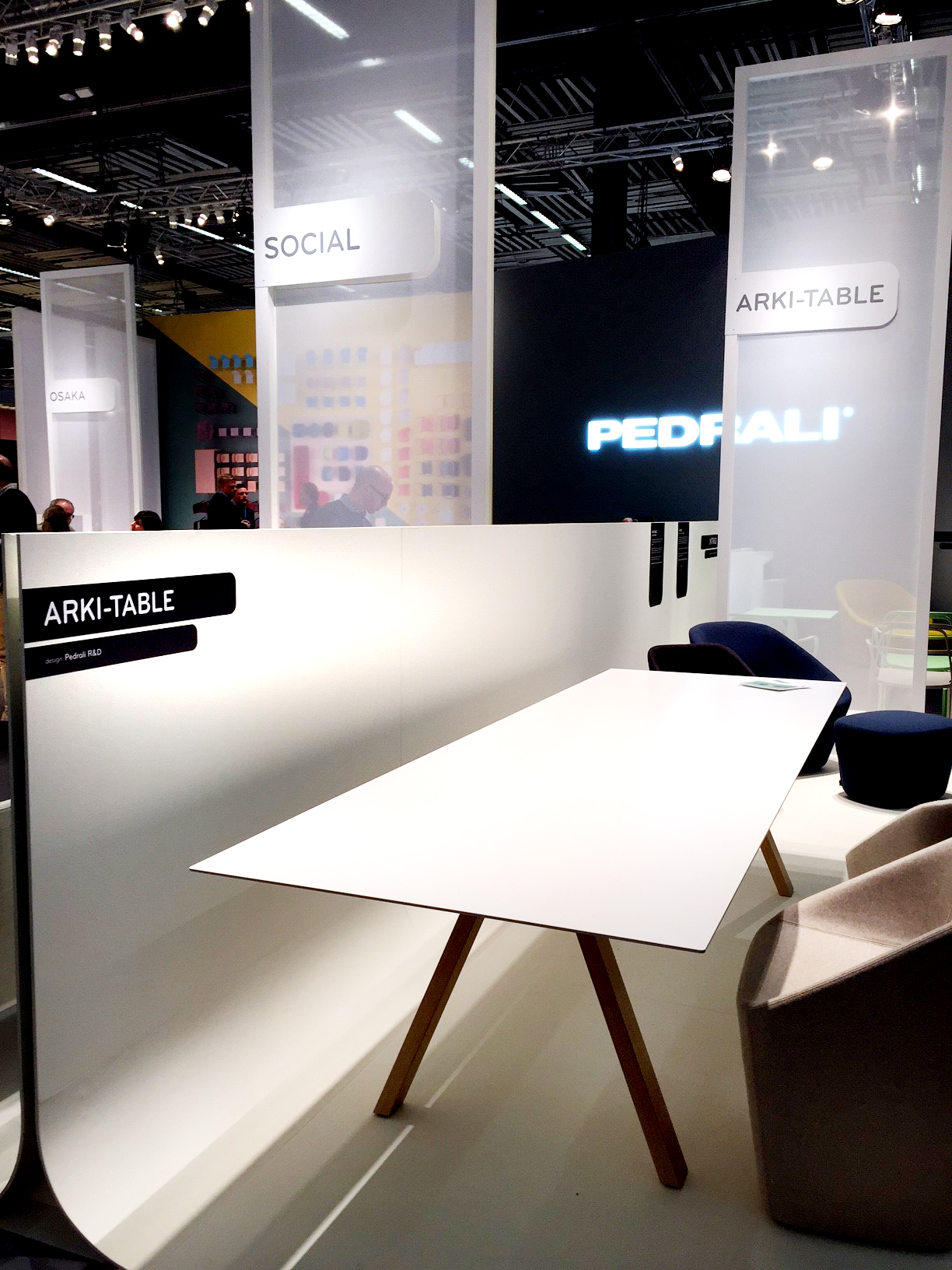 Arki Table by Pedrali