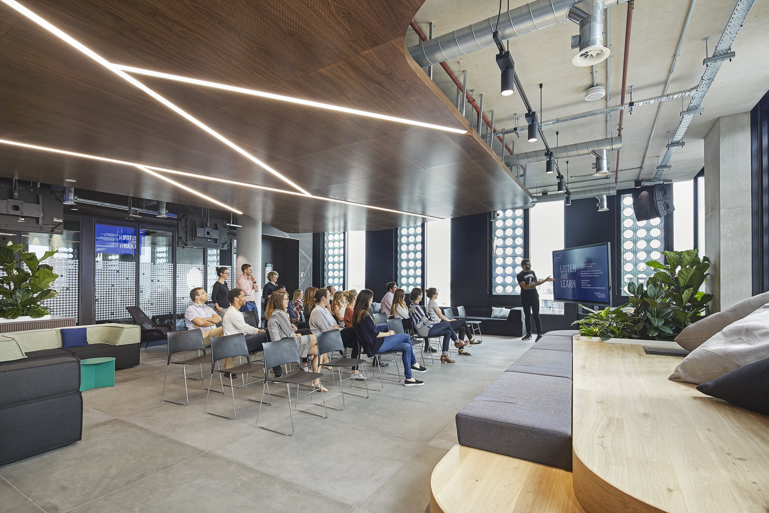 Capital One — Day 2 Interiors