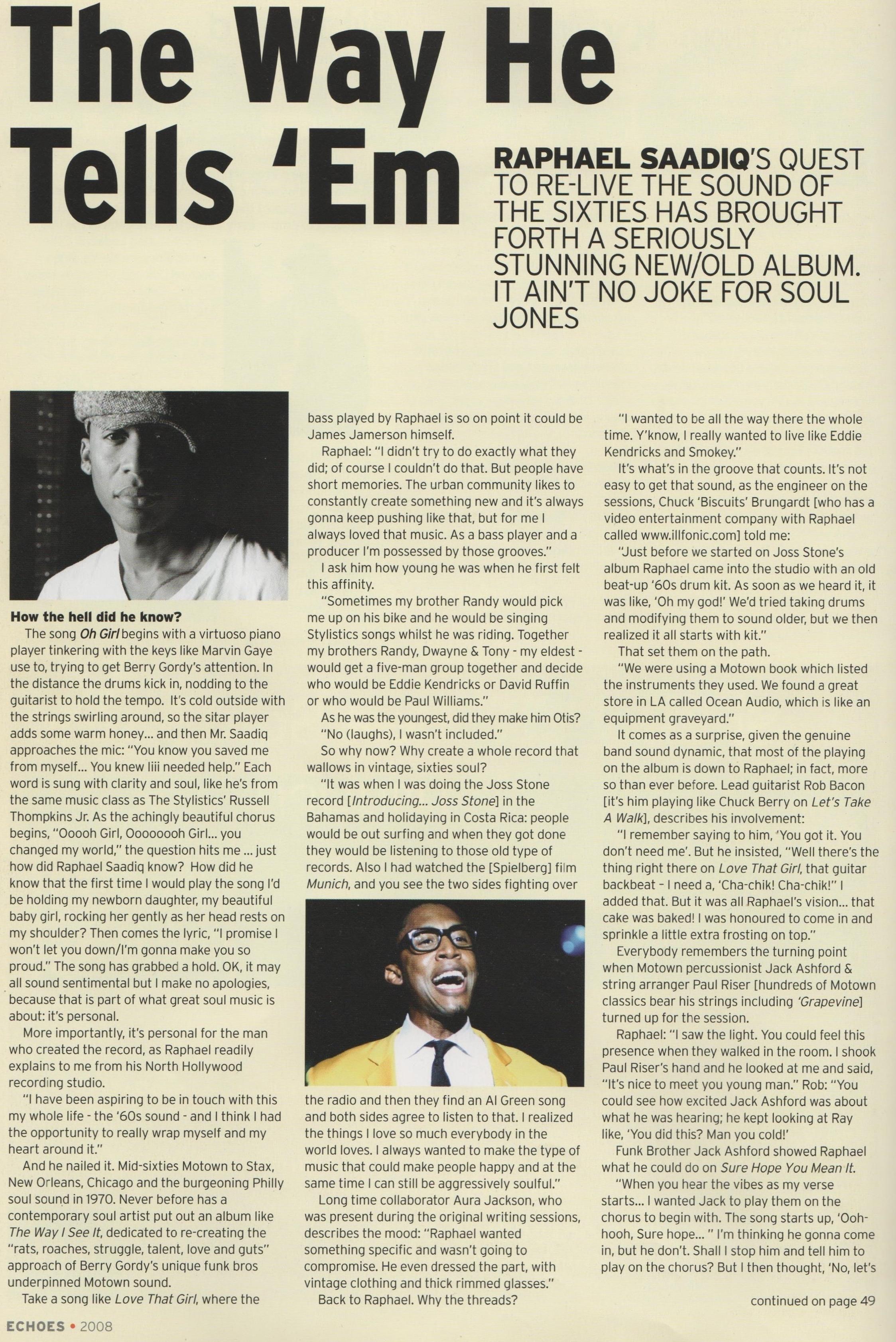 Echoes Magazine Oct 2008