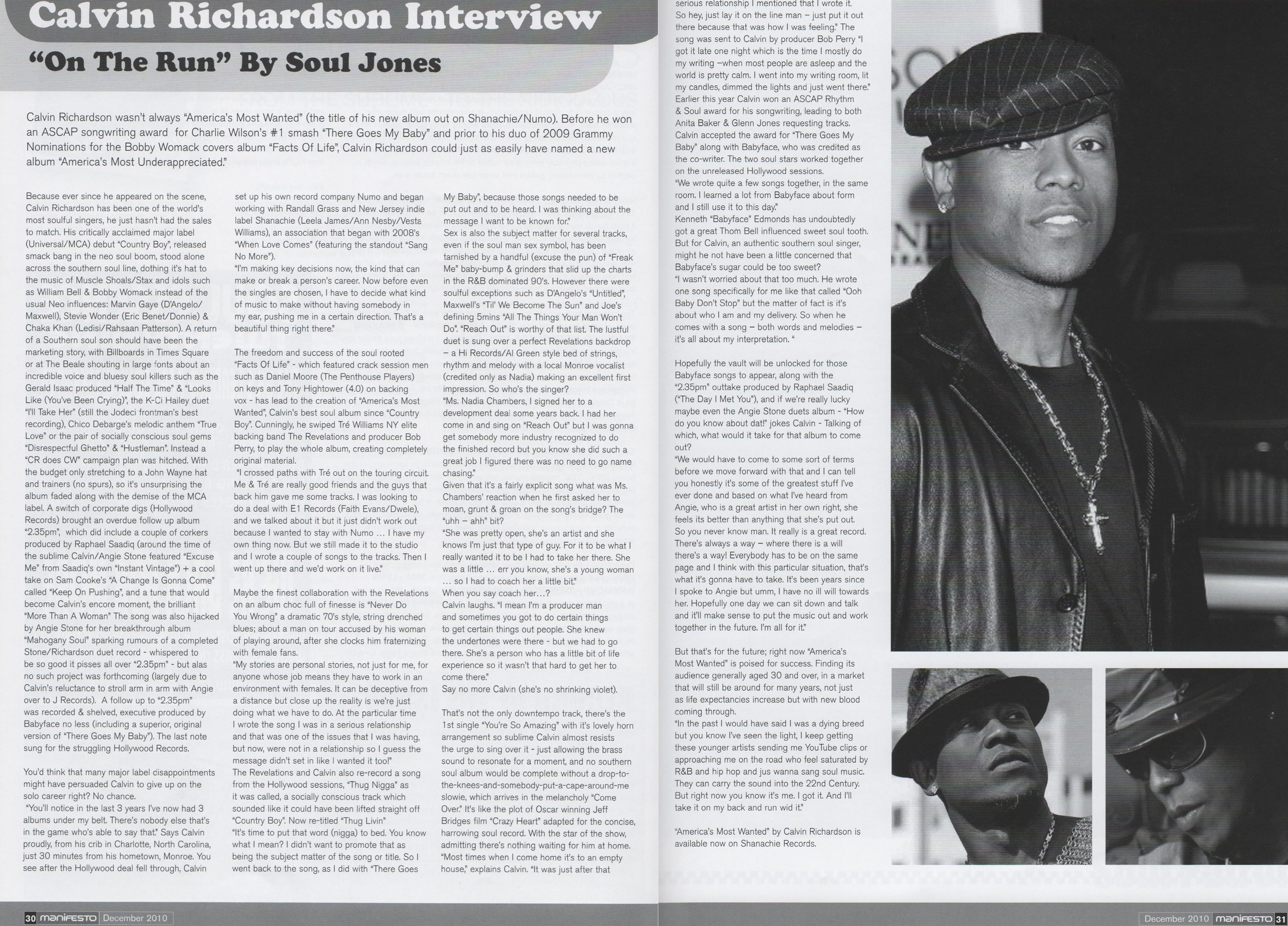 Manifesto Magazine Dec 2010