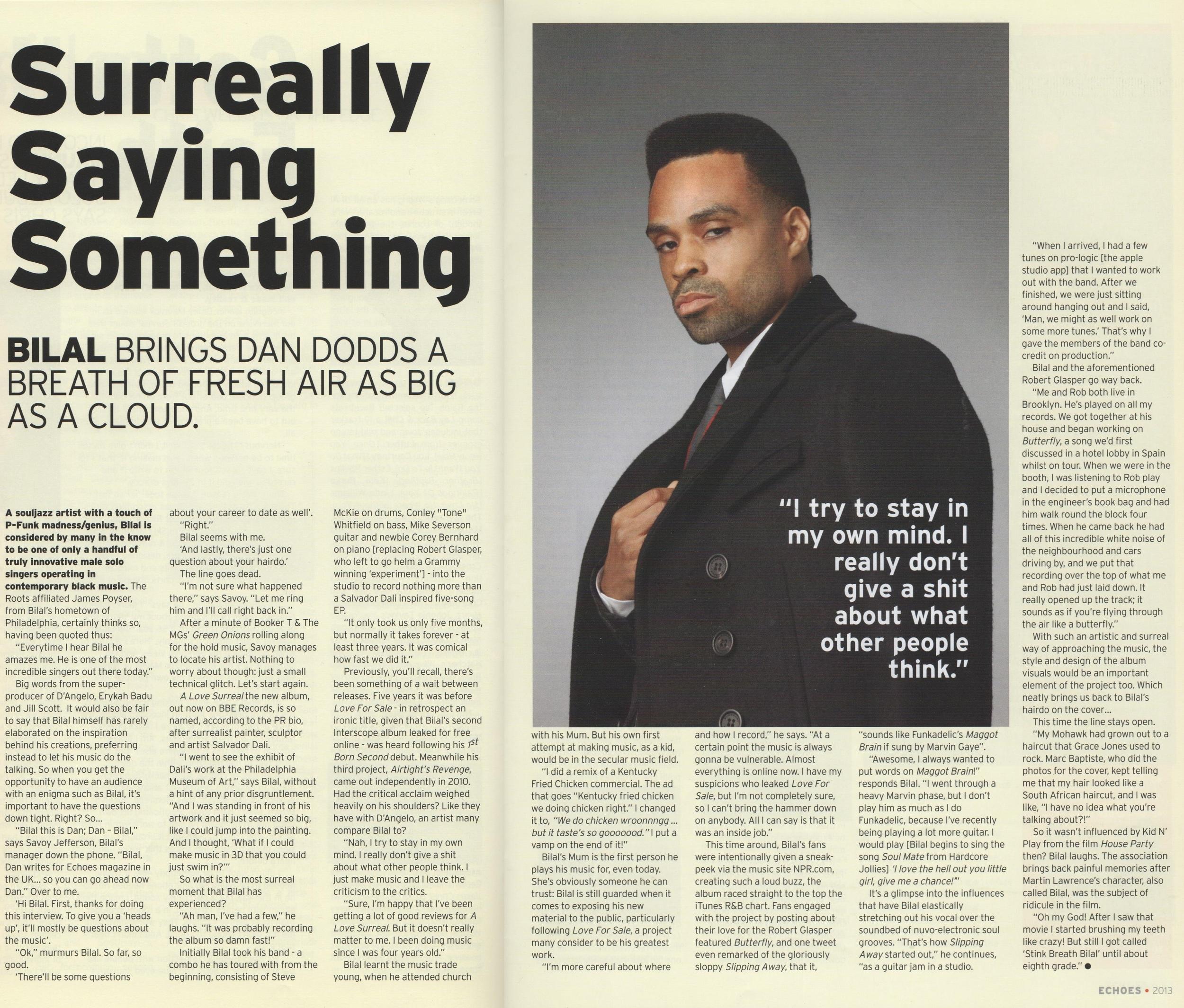 Echoes Magazine Apr 2013