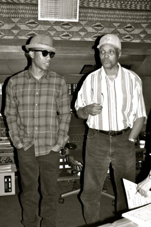 Saadiq & Motown legend Paul Riser