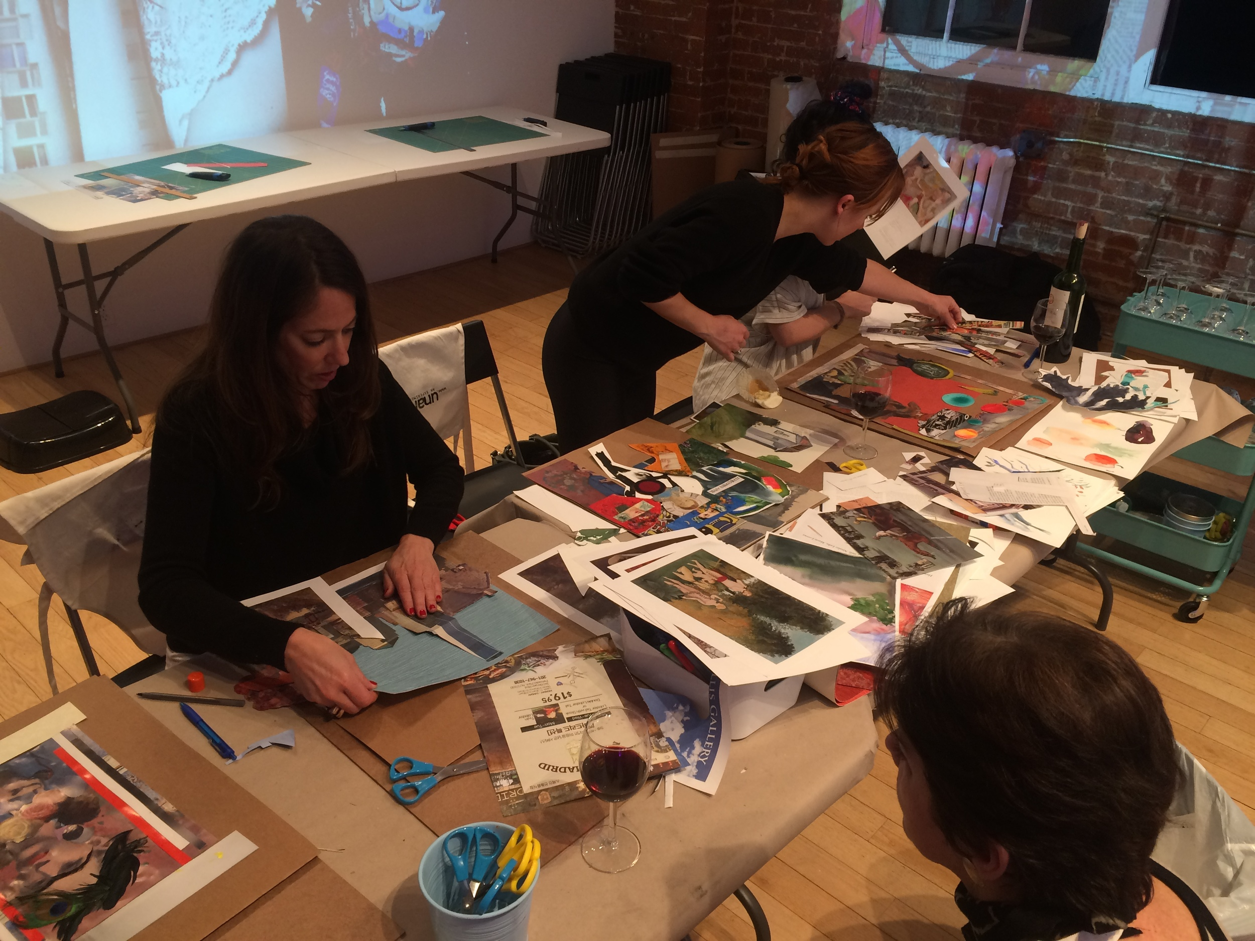 collage art classes NYC