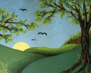 Selected painting: Summer Landscape
