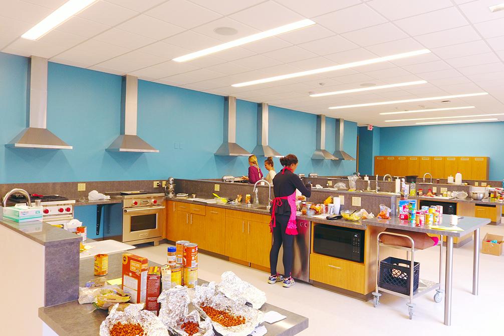 $1 million renovated food lab