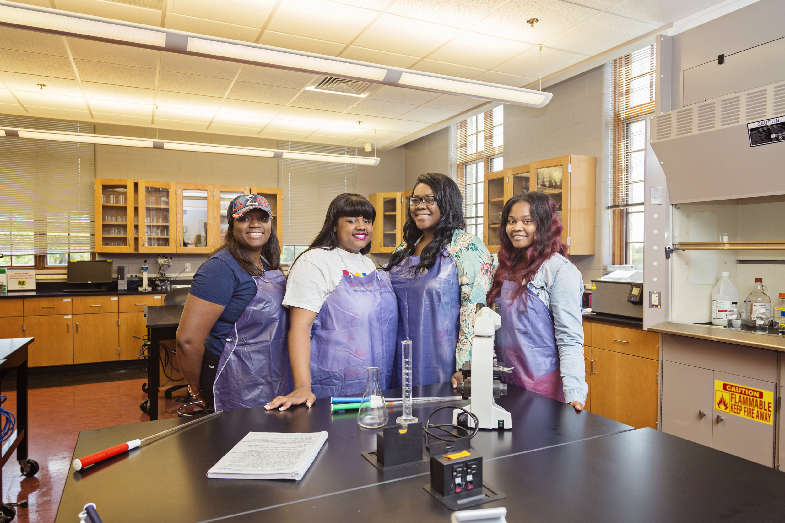 "Meet the Science Sisters - Check out these hardworking biology seniors who call themselves the ""Science Sisters,"