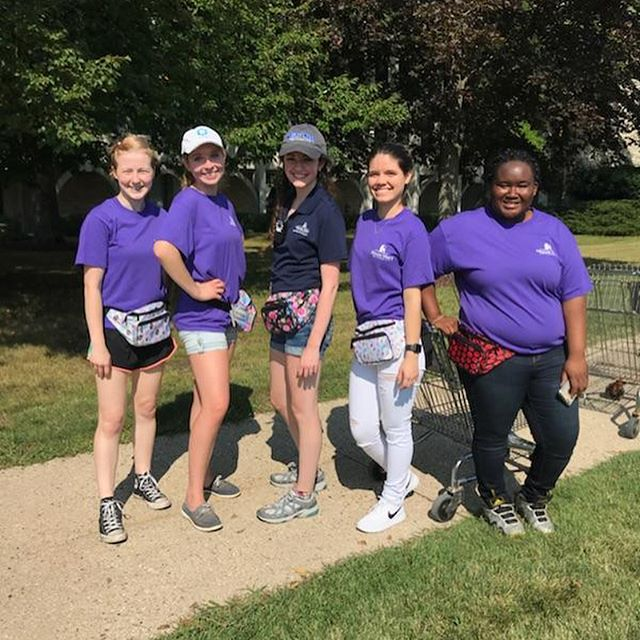 Welcome to Mount Mary new students! Here's to making new friends, creating new memories, and learning how to transform the world in your own unique way. 💛💙 #moveinday #moveinday2018 #womensupportingwomen #mountmaryuniversity #milwaukee #transformingtheworld #herestothebold #collegedorm #dormsweetdorm #universitylife #creativecampus