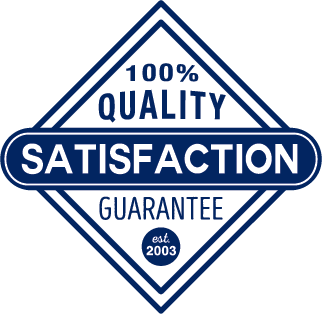 100% Quality Satisfaction Guarantee