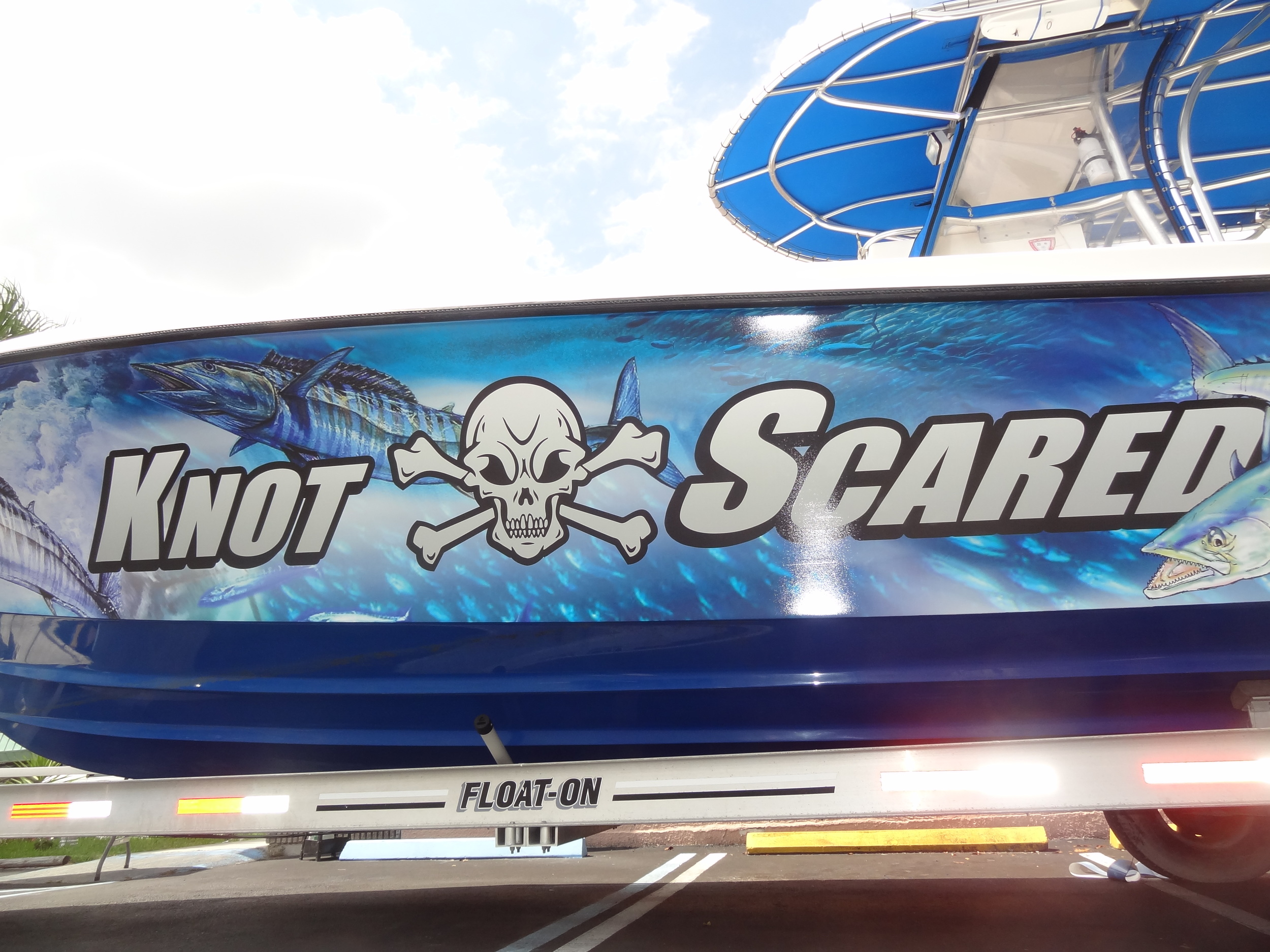 Knot Scared Boat Wrap
