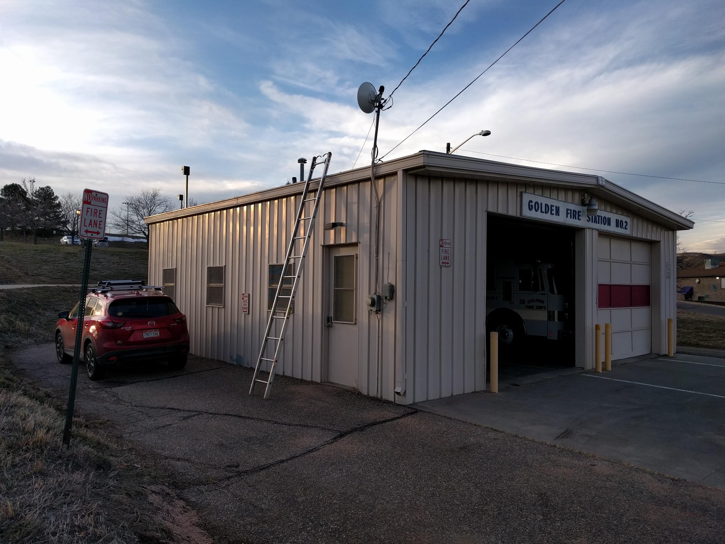 Golden Fire Station 22 goes on-line