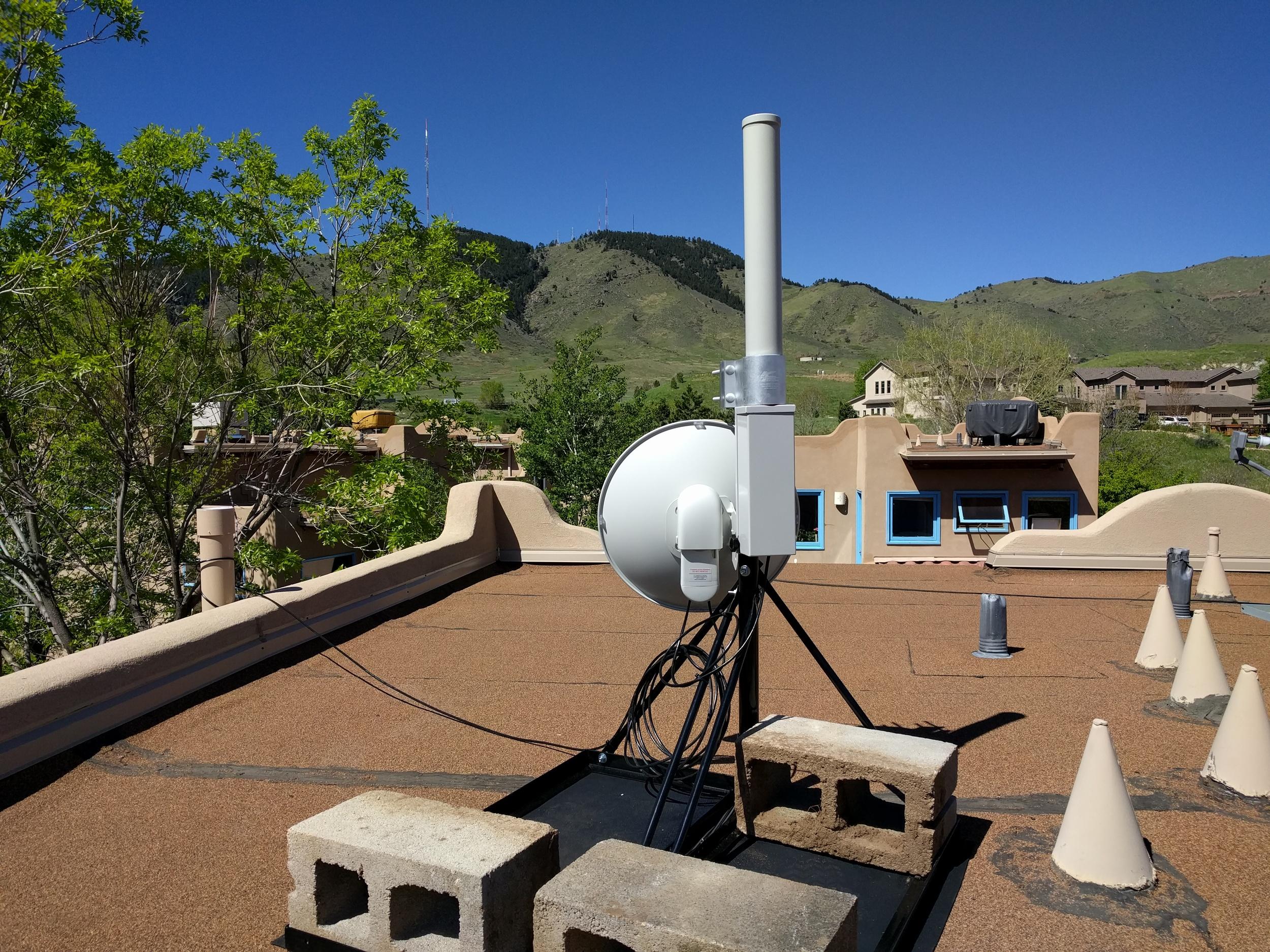 Transmitter in Harmony Village
