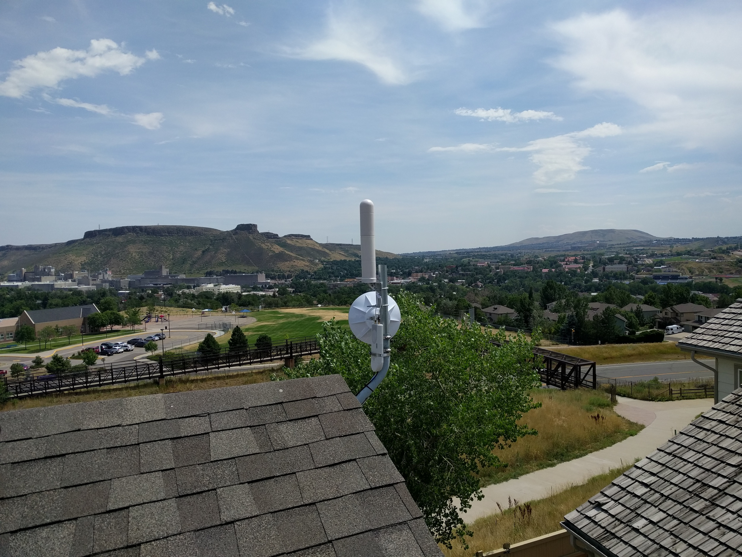 New repeater in Mountain Ridge
