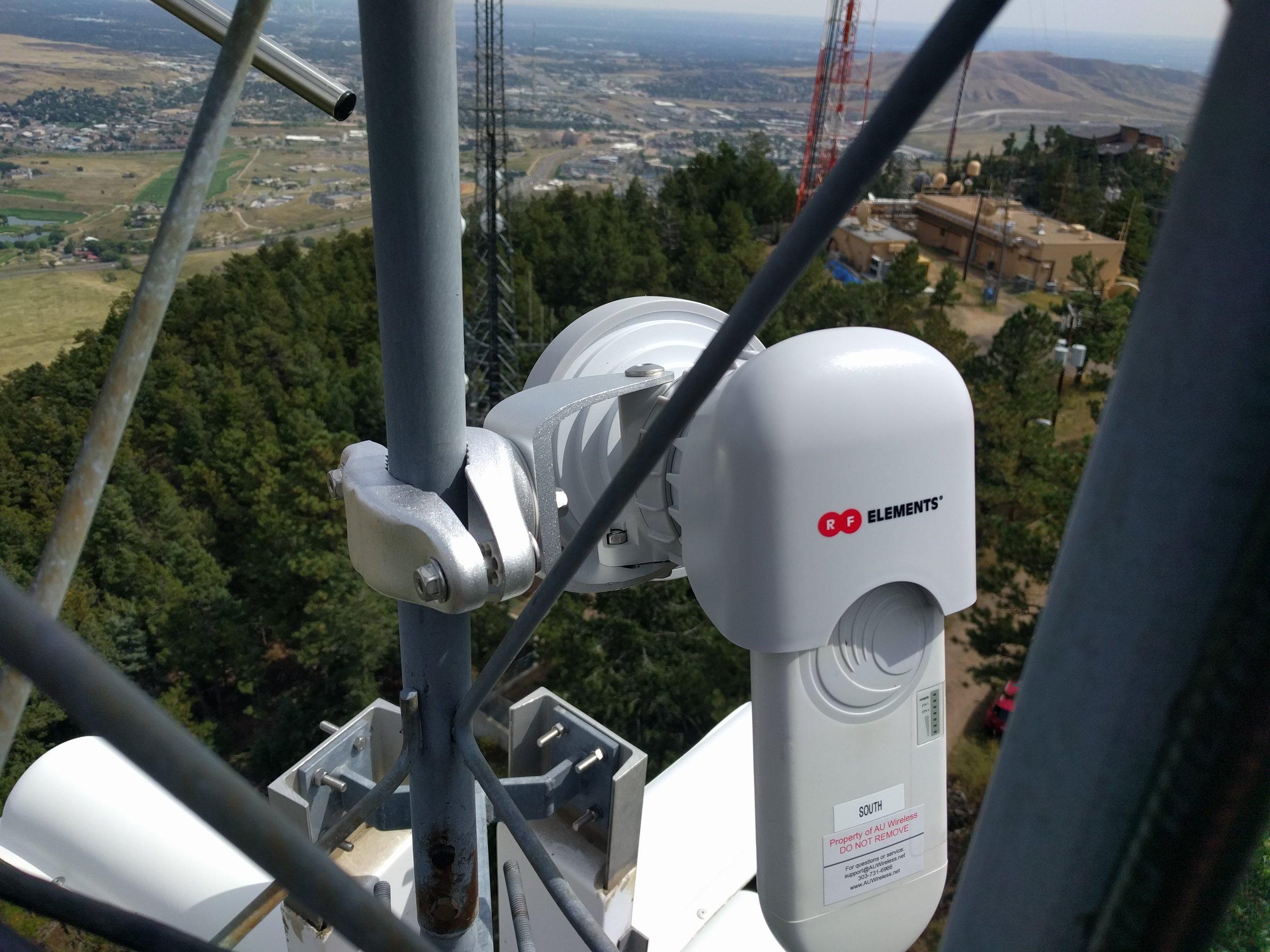 ePMP 1000 into a RF Elements TwistPort 60 degree horn