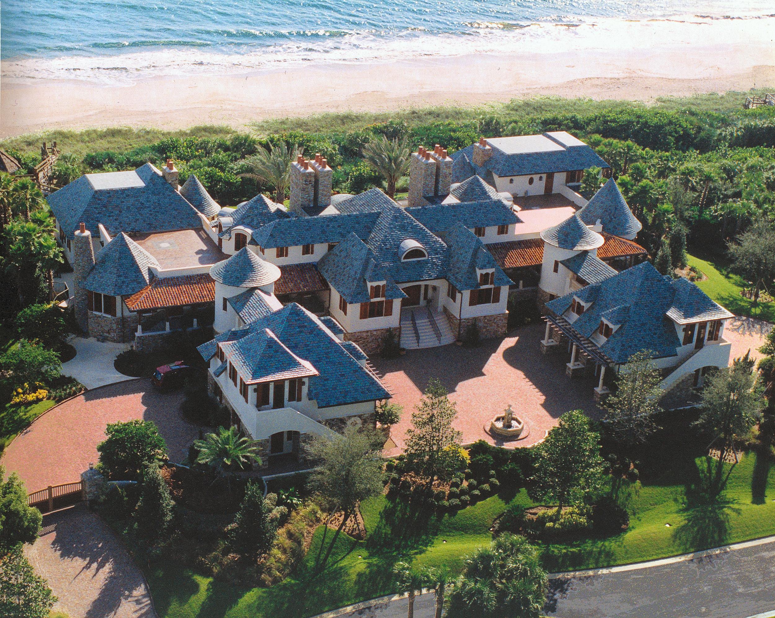 slate roof mansion