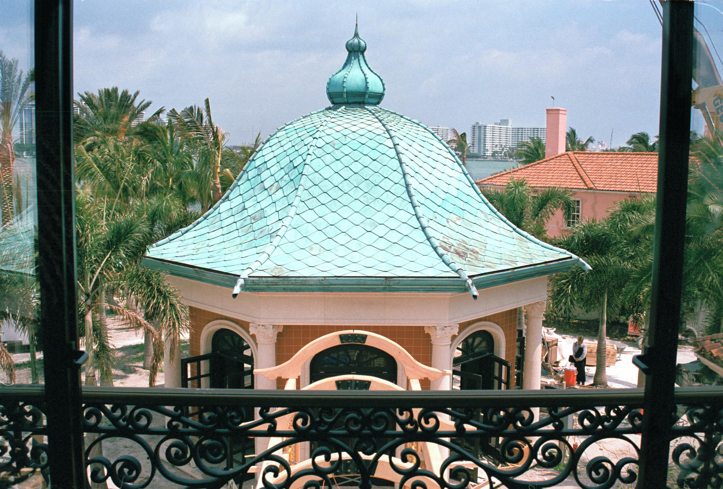 FIRST ABOVE: CIRCULAR CONGREGATIONAL CHURCH, ChARLESTON, SC  SECOND ABOVE: PRIVATE THEATRE, STAR ISLAND, FL
