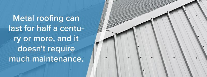 longevity of metal roofs