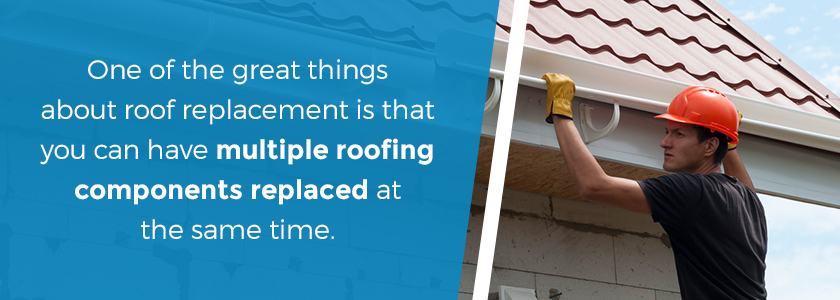 The benefits of roof replacement