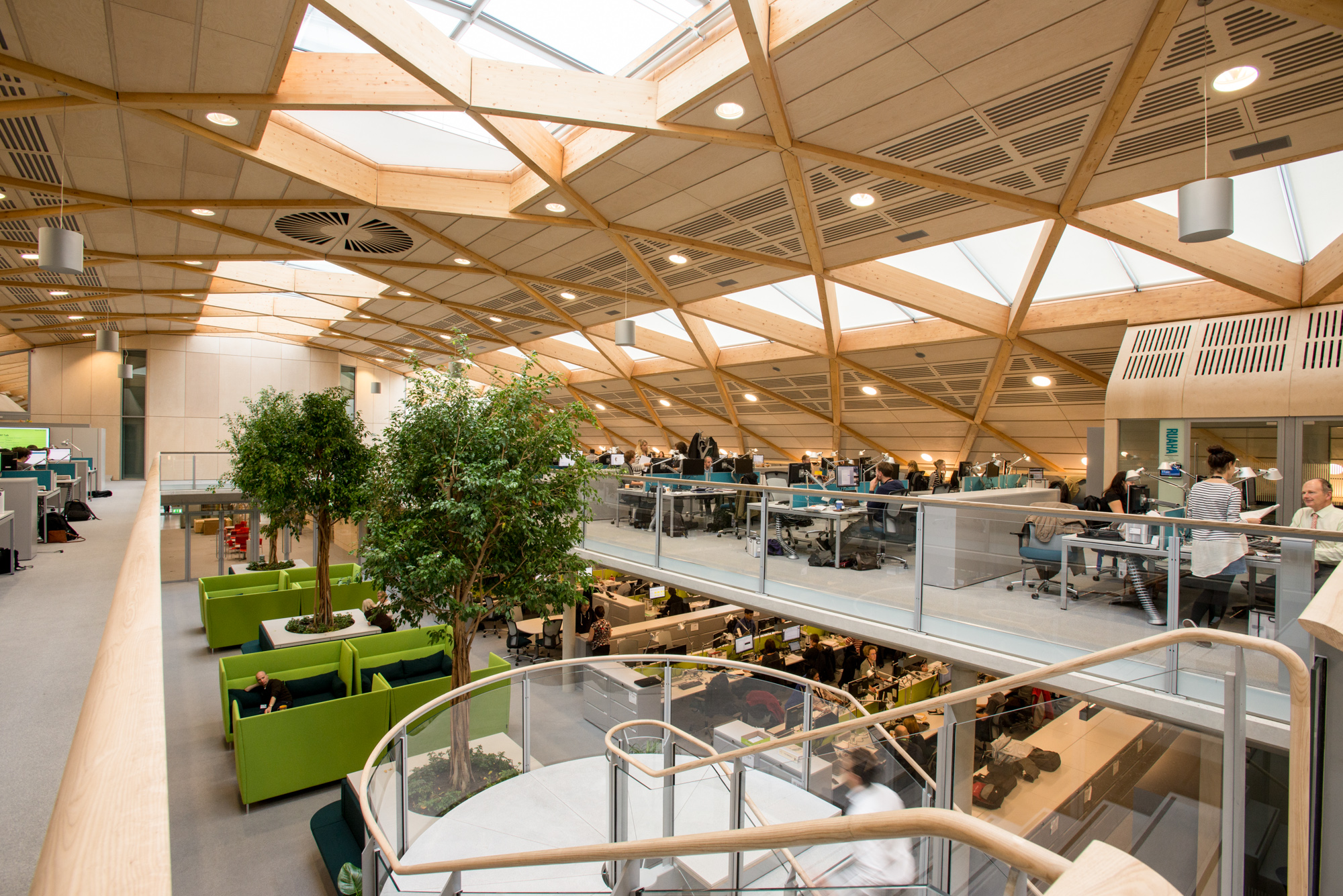 WWF UK HQ, Woking with architectural and interior photography by Richard Stonehouse ,architectural photographer.