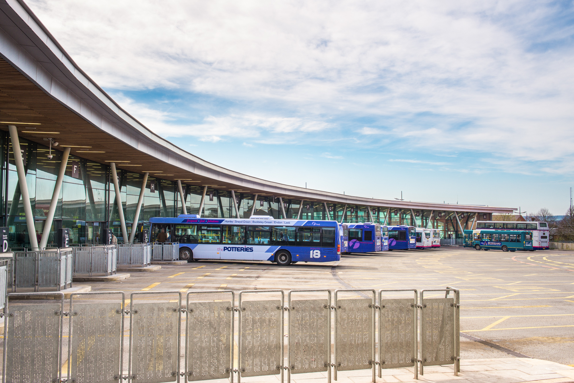 Stoke-on-Trent Bus Station - Grimshaw Architects