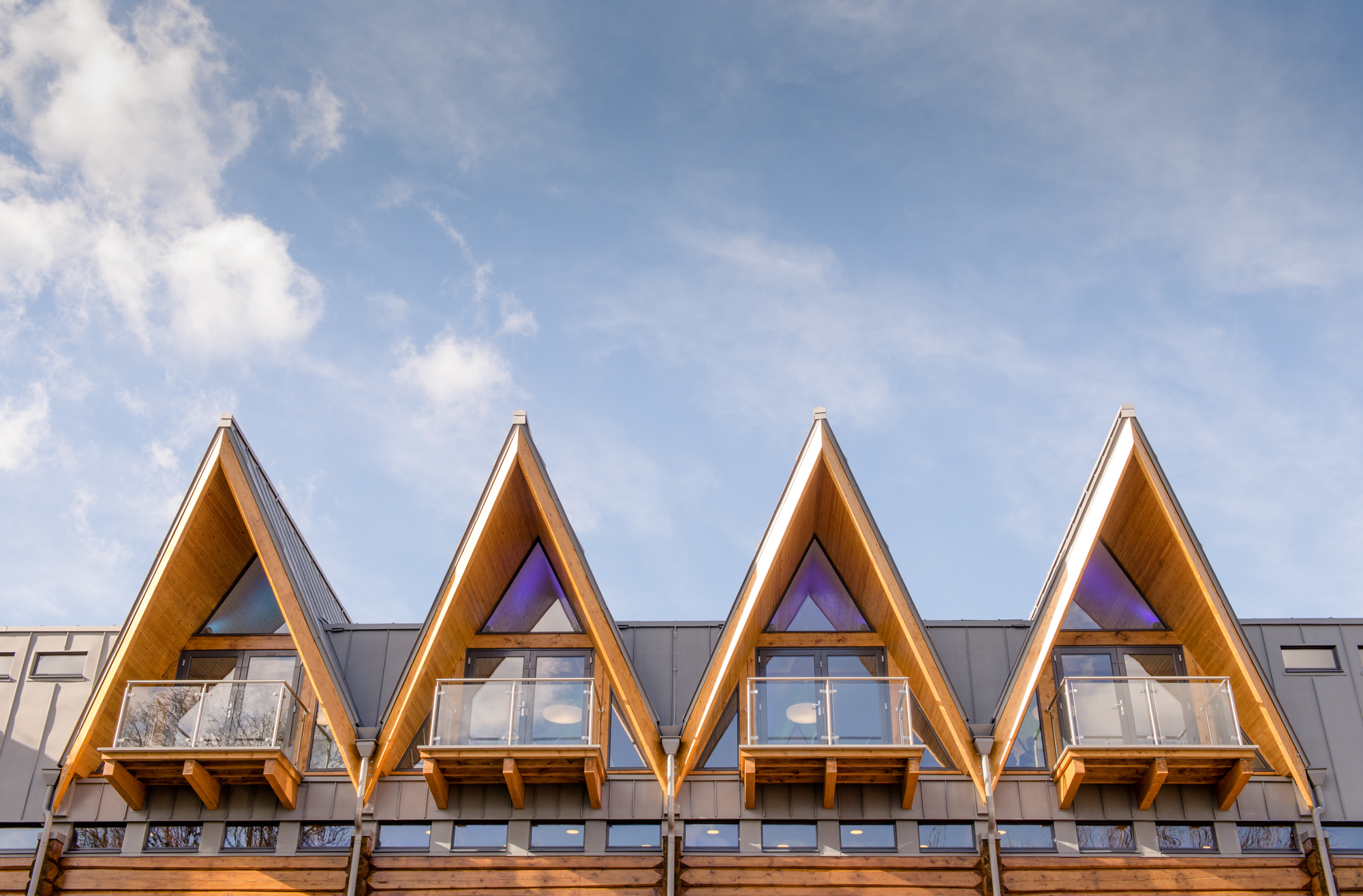 Riverside Clubhouse by Emission Zero architects, Richard Stonehouse architectural photographer